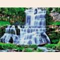 """Схема для вышивания бисером А.ТОКАРЕВА """"Водопад в лесу"""""""