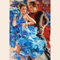 "Пазлы Кастор ""Танцы в бирюзовых тонах"" арт.C103287"