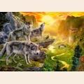 "Пазлы Кастор ""Долина волков"" арт.B52073"