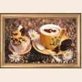 """Набор для вышивания бисером BUTTERFLY """"Утренний кофе"""""""