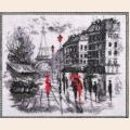 "Набор для вышивания бисером BUTTERFLY ""Париж (по картине О. Дарчук)"" NEW"