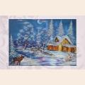 """Набор для вышивания бисером ASTREA ART """"Зимняя сказка"""""""
