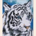 """Набор для вышивания бисером BUTTERFLY """"Белый тигр"""""""
