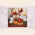 """Набор для вышивания бисером ASTREA ART """"Кот на балконе"""" NEW"""