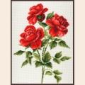 """Набор для вышивания нитками ПАЛИТРА """"Три розы"""""""