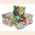 СЛ.142405 Набор коробок 4в1 куб Математика 14х14х12см