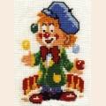 """Набор для вышивания нитками """"Сделай своими руками"""" """"Клоун-набор"""""""