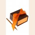 Коробка смарт апельсин и шоколад арт.ГС.SBL.02/14-19 9х5х9см  6 шт