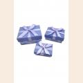 Коробка картонная Калейдоскоп арт.ГС.CBX.301/X256-70 уп.из 3 прямоуг 6,5х4,5х2,5-10х8,5х4,5см