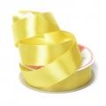 "Лента атласная 1"" (25мм) цв.3014 /058 желтый"