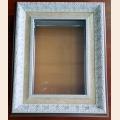 """Рамка со стеклом для иконы """"Вседержитель""""(без колонн) фирмы """"Изящное рукоделие"""" размер 19х27 см"""