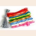 """Набор для вышивки """"Вдохновение"""" арт. С3665Г17 уп. 11 цветов по 4м"""