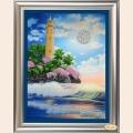 """Набор для вышивания бисером/стразами ТЭЛА АРТИС """"Тропический маяк"""""""