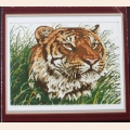 """Набор для рисования камнями """"Тигр"""" разм.50х47"""