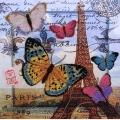 """Набор для вышивания бисером BUTTERFLY """"Привет из Парижа"""""""