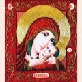 """Набор для вышивания бисером ИЗЯЩНОЕ РУКОДЕЛИЕ """"Богородица Касперовская"""" (Икона)"""