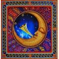 """Набор для вышивания бисером КАРТИНЫ БИСЕРОМ """"Лунные ритмы -1"""""""