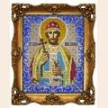 """Принт для вышивания бисером ВЫШИВАЕМ БИСЕРОМ """"Святой князь Борис"""""""