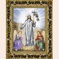 """Принт для вышивания бисером ВЫШИВАЕМ БИСЕРОМ """"Воскресение Христово"""""""