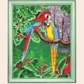 """Набор для вышивания бисером BUTTERFLY """"Самоцветы джунглей"""""""