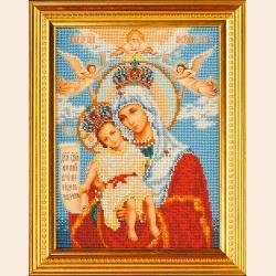 """Набор для вышивания бисером РАДУГА БИСЕРА (КРОШЕ) """"Богородица Милующая"""""""