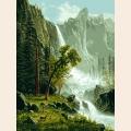 Пейзаж с водопадом / G 669 / Goblenset (Гобленсет)