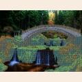 """Схема для вышивания бисером ASTREA ART """"Мост в парке"""""""