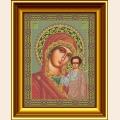 """Набор для вышивания бисером GALLA COLLECTION """"Икона Божией Матери """"КАЗАНСКАЯ"""""""