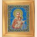 """Набор для вышивания бисером GALLA COLLECTION  Икона Божией Матери """"ЛЕУШИНСКАЯ"""""""