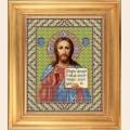 """Набор для вышивания бисером GALLA COLLECTION  Икона """"ИИСУС ВСЕДЕРЖИТЕЛЬ"""""""