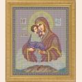 """Набор для вышивания бисером GALLA COLLECTION  Икона Божией Матери """"ПОЧАЕВСКАЯ"""""""