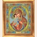 """Набор для вышивания бисером GALLA COLLECTION  Икона Божией Матери """"ЖИРОВИЦКАЯ"""""""