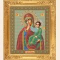 """Набор для вышивания бисером GALLA COLLECTION  Икона Божией Матери """"ОТРАДА ИЛИ УТЕШЕНИЕ"""""""