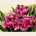 "Набор для вышивания нитками Goblenset ""Мохнатые тюльпаны"""