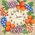 """Схема для вышивания бисером МАРИЧКА """"Часы. Фруктовый веночек"""""""