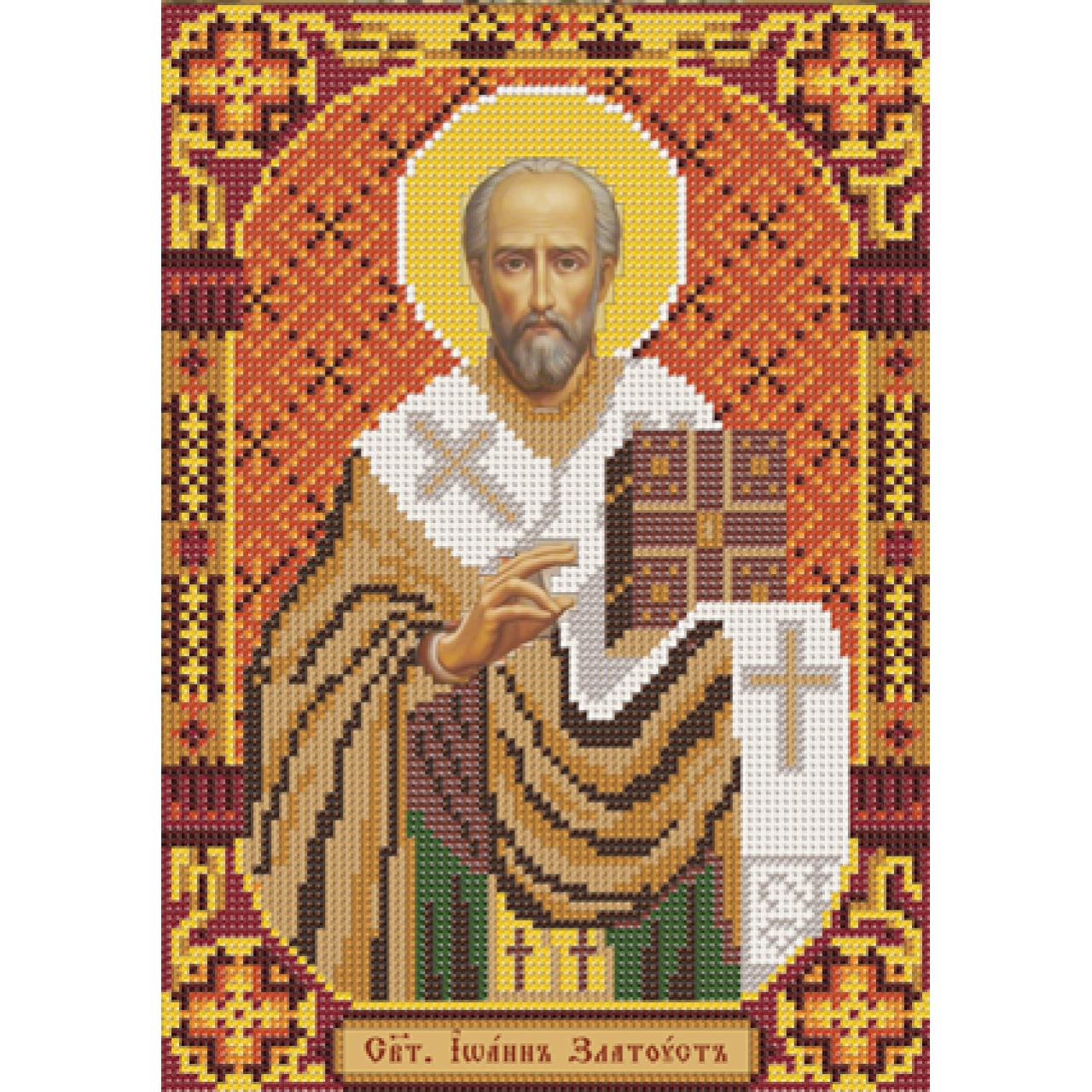 Икона иоанна крестителя вышивка бисером