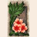 """Набор для вышивания. Ковровая техника PANNA  """"Три цветка"""""""