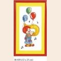 """Набор для вышивания арт.Овен - 038 СР """"Клоун """"Си"""""""