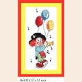 """Набор для вышивания арт.Овен - 035 СР """"Клоун """"Ми"""""""