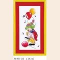 """Набор для вышивания арт.Овен - 033 СР """"Клоун """"До"""""""