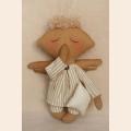 """Набор для изготовления текстильной игрушки 21см """"Angel''s Story""""  Ваниль"""