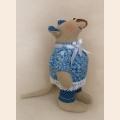 """Набор для изготовления текстильной игрушки 22 см """"Mouse Story"""" """"Мышка""""  Ваниль"""