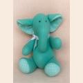 """Набор для изготовления текстильной игрушки 21 см """"Elephant Story"""" """"Слон""""  Ваниль"""