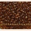 Бисер PRECIOSA 10090 коричневый прозрачный 50 гр. (№10)