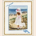 """Набор для вышивания крестом Золотое Руно """"Пляж"""""""