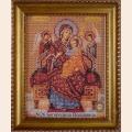 """Рамка со стеклом №26 Богородица """"Всецарица """""""