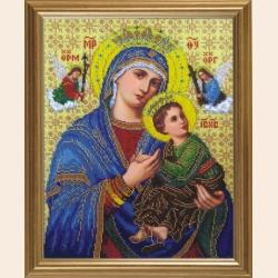 """""""Богородица Неустанной Помощи"""" /31,11х46,06 см"""